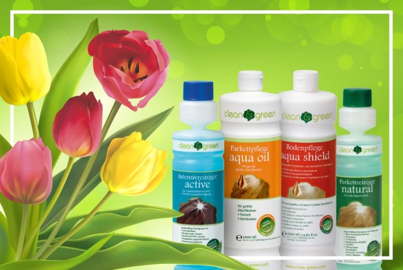 0e69aedfe6fc2f Alle clean   green Produkte sind ökologisch korrekt. Das erkennen Sie nicht  nur an den wertvollen Inhaltstoffen