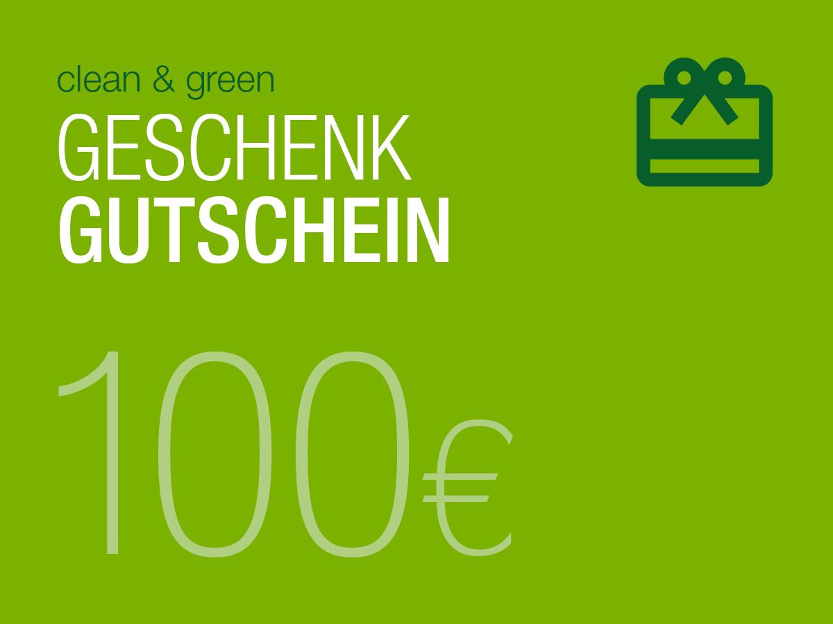 Clean green geschenk gutschein ber 100 clean green for Gutschein boden