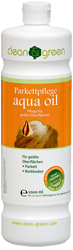 clean & green aqua oil Parkettpflege